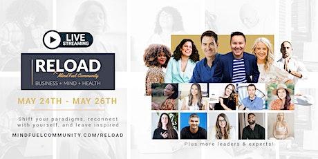 [Online] RELOAD Conference + Retreat For Entrepreneurs & Business Owners billets