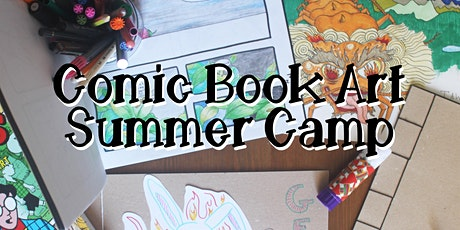 Comic Book Art Summer Camp tickets