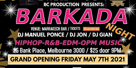Barkada Night tickets