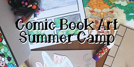 Comic Book Art Summer Camp tickets
