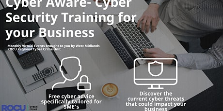 Cyber Aware- Cyber Security Training for your Business tickets