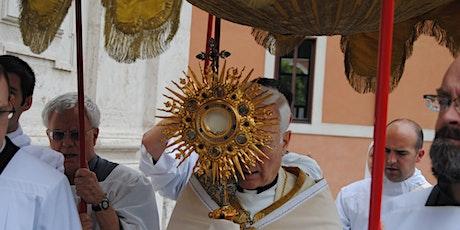 Annual Eucharistic Procession / Processione eucaristico biglietti