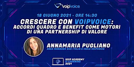 Crescere con VoipVoice: accordi quadro e benefit per partnership di valore biglietti
