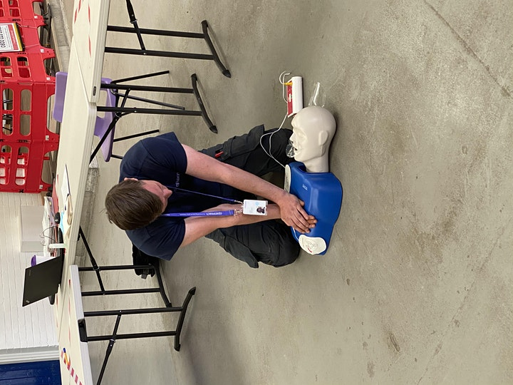Level 3 Emergency First Aid at Work 21st June 2021 image