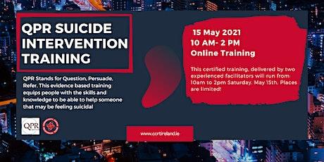 QPR Suicide Intervention Training biglietti