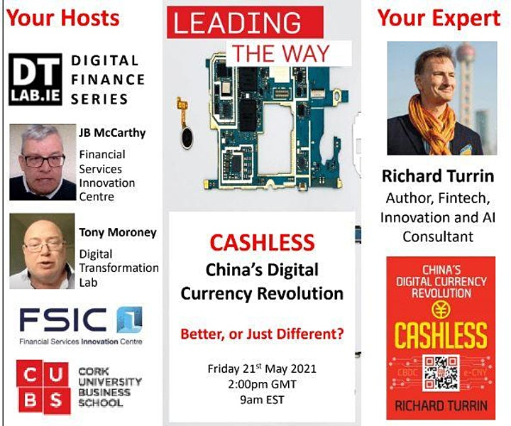 DIGITAL FINANCE SERIES: Cashless – China's Digital Currency Revolution. image