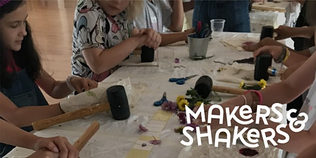 Makers & Shakers - Natural Printing Workshop (Hapa Zome) tickets