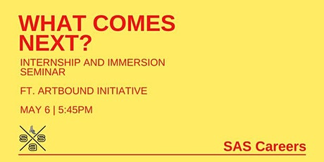 SAS Presents: What Comes Next? tickets