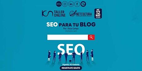 Taller Online SEO para tu Blog 12May entradas