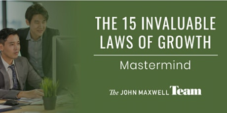 15 Laws of Growth Mastermind tickets