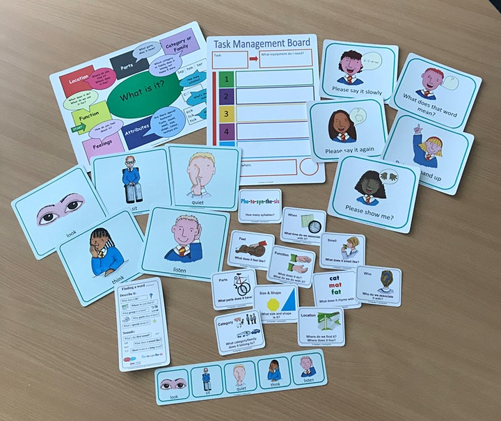 Effective support for secondary school children with SLCN image