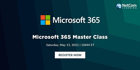 Live Event - Microsoft 365 Master Class tickets