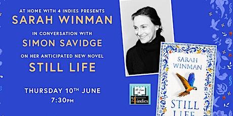 An evening with Sarah  Winman tickets