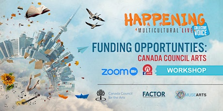 Funding Opportunities : Canada Council for the Arts tickets