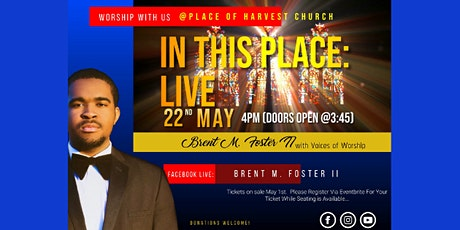 In This Place: Live Recording Worship Experience (ACT 1) tickets