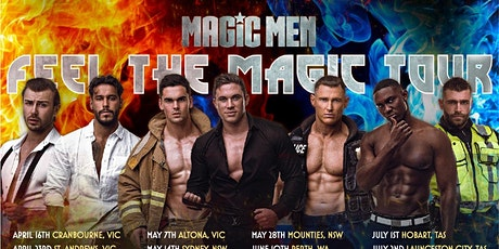 MAGIC MEN ALL STAR ADELAIDE SHOW B Ft Will tickets