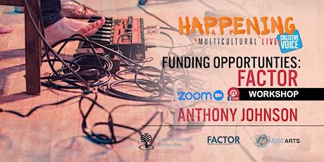 Funding Opportunities: FACTOR tickets