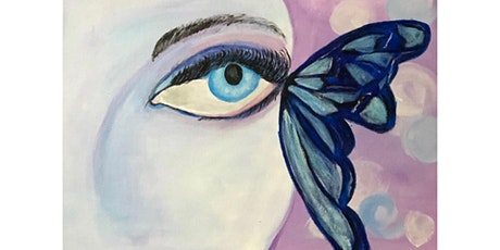 Lady Butterfly paint & sip tickets