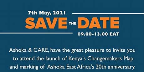 Kenya Changemaker Map Launch Tickets