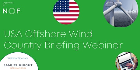 USA Offshore Wind Country Briefing Webinar tickets