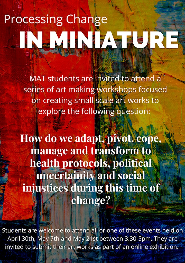 Processing Change in Miniature Art Therapy Workshops image