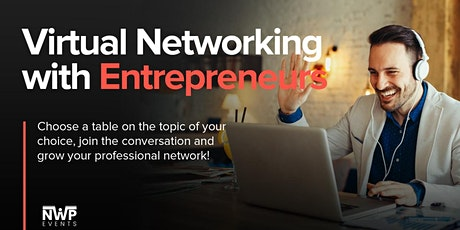 Virtual Networking with Entrepreneurs tickets