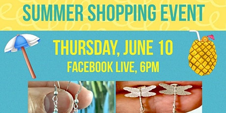 Summer Shopping Event on Facebook Live tickets