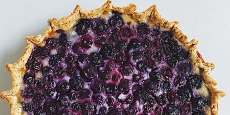 Online Baking Workshop: Blueberry Clafoutis Pie tickets