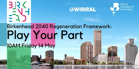 Birkenhead 2040 Regeneration Framework: Play Your Part tickets