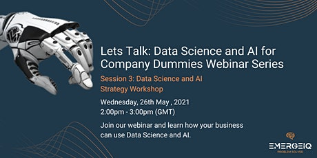 Data Science and AI Strategy Workshop tickets