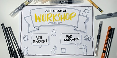 Sketchnotes lernen (Basic) - Online Workshop via Zoom Tickets