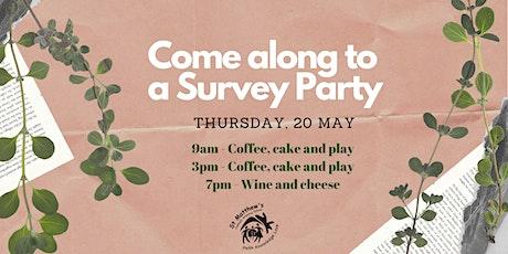 Survey Party at St Matt's tickets
