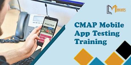 CMAP Mobile App Testing 2 Days Virtual Live Training in Frankfurt billets