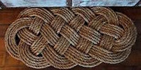 Woven Rope Mat tickets