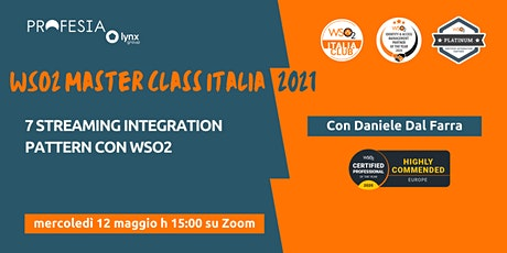 7 Streaming integration pattern con WSO2 tickets