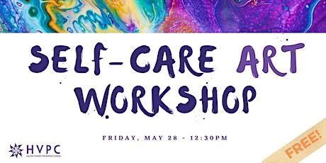 Expressive Self-Care  ART WORKSHOP (Virtual & Free) tickets