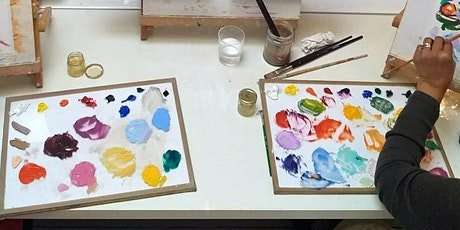 Concentration on Colour - a one-day oil painting workshop tickets