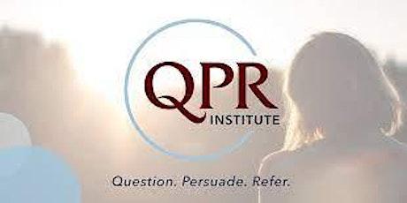 Online QPR Training - Suicide Prevention & Education tickets