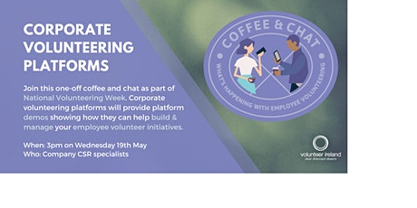Corporate Coffee & Chat - Volunteer Engagement Platforms tickets