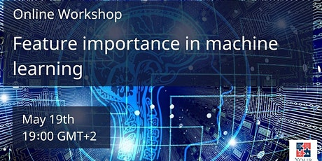 Online workshop - Feature importance in machine learning - May 2021 tickets