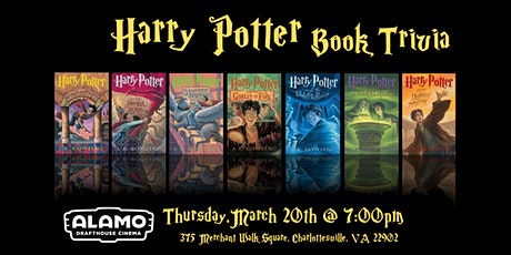Harry Potter( Books) Trivia at Alamo Drafthouse Charlottesville tickets