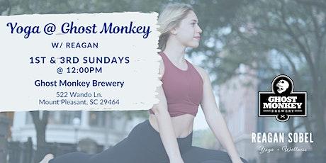 Outdoor Yoga at Ghost Monkey Brewery w/ Reagan Sobel tickets