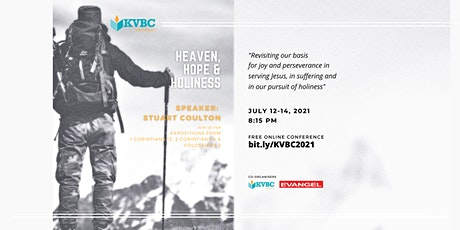 KVBC BIBLE CONFERENCE 2021  July 12-14   8:15pm nightly tickets
