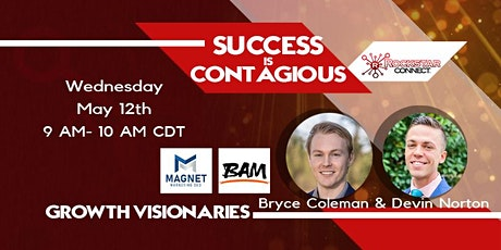 Growth Visionaries presents Success is Contagious tickets