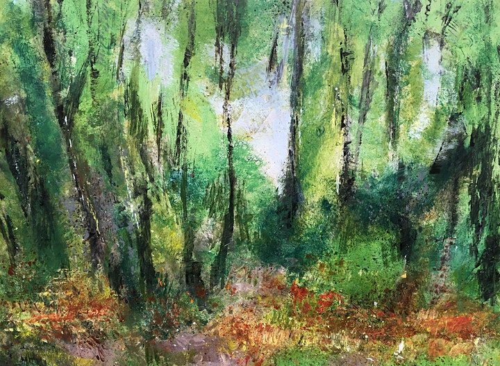 Acrylic painting workshop with Lorna Mackay image