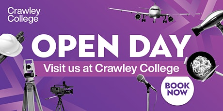 Crawley College Open Event - 30 June 2021 tickets