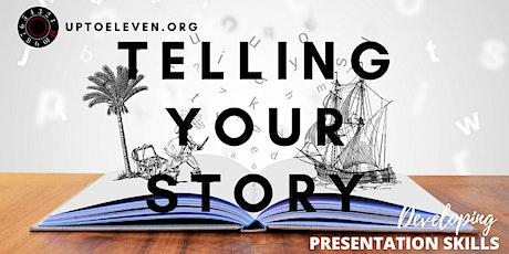 Presentation Skills: Telling Your Story tickets