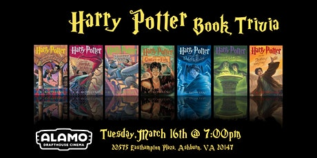 Harry Potter( Books) Trivia at Alamo Drafthouse Loudoun tickets