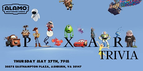 Disney Pixar Movie Trivia at Alamo Drafthouse Loudoun tickets
