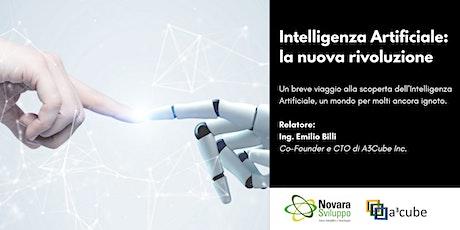 Intelligenza Artificiale: la nuova rivoluzione biglietti